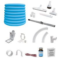 Cyclo Vac Installation And Attachment Kit Retractable Hose Rapid Flex, 30'