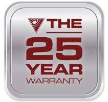 The 25 year warranty